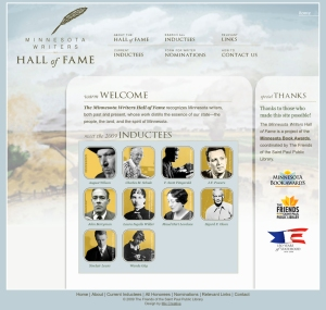 Minnesota Writers Hall of Fame Website